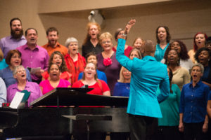 Sign up for Columbia Gospel Choir